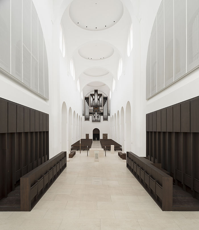 Modern religious architecture like the St. Moritz church