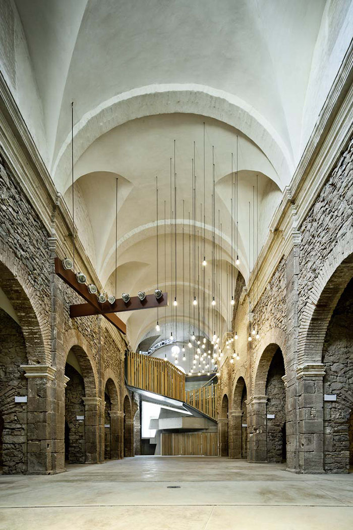 Modern religious architecture like the St. Francesc interior