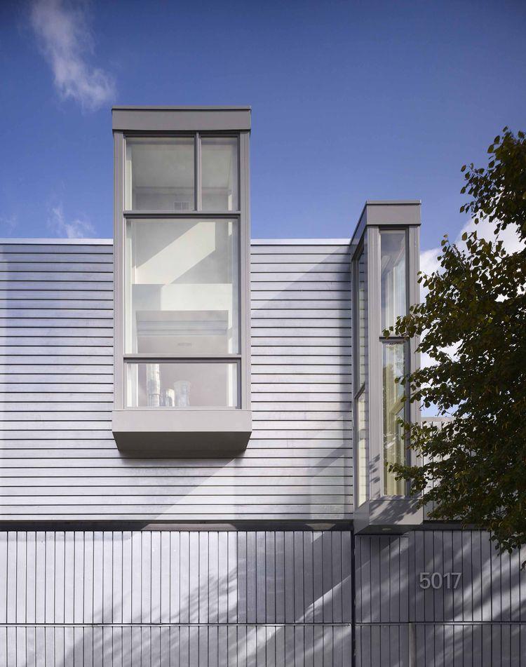 Dublin House addition windows