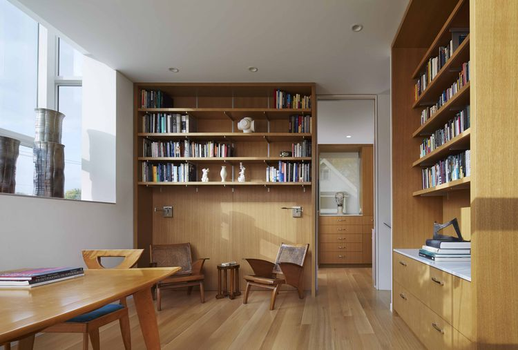 Doblin House addition library.
