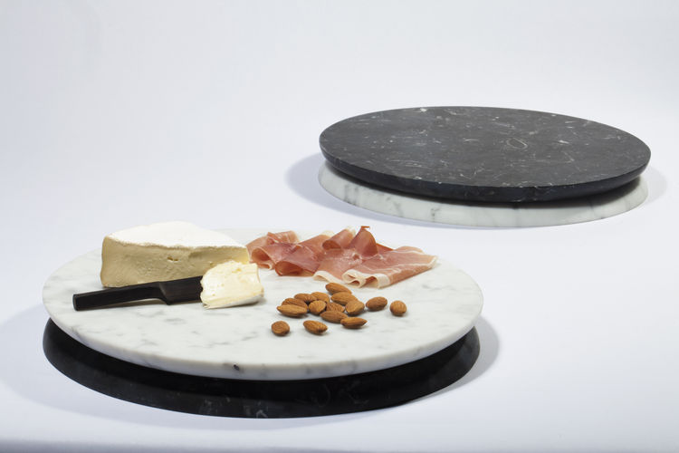 Two-sided marble serving platter