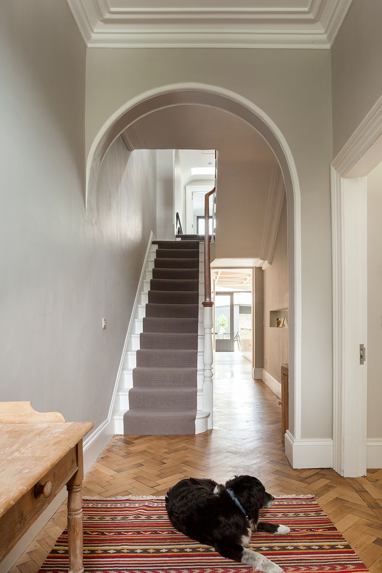Dublin Victorian Extension unchanged corridor