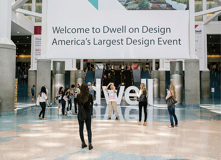 Dwell on Design Los Angeles 2015 entrance