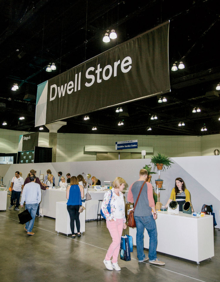 Dwell Store pop-up