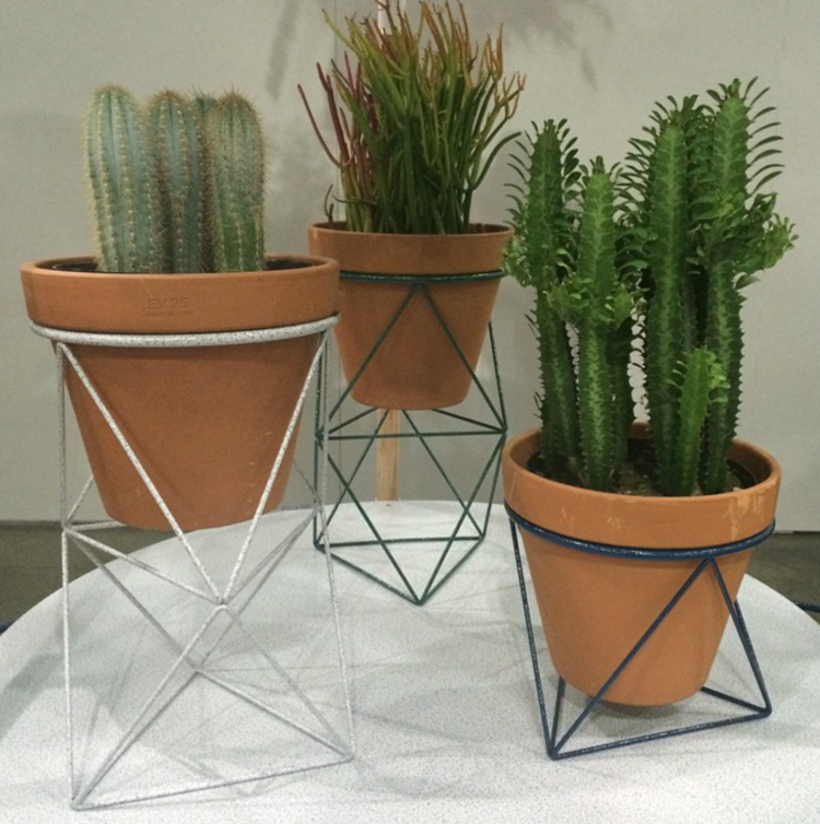 Dwell on Design Dwell Store Octahedron planters.