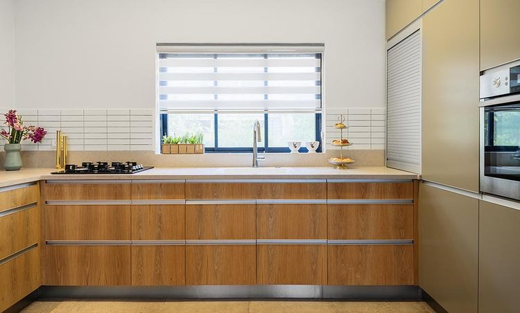A kitchen designed by EN Studio in Ein Hod Israel