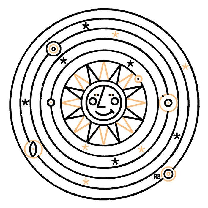 Solar State illustration by Raymond Biesinger