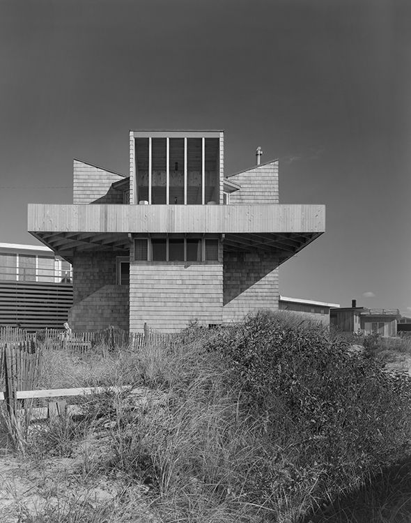 Fire Island modern Horace Gifford beach house designed 1961