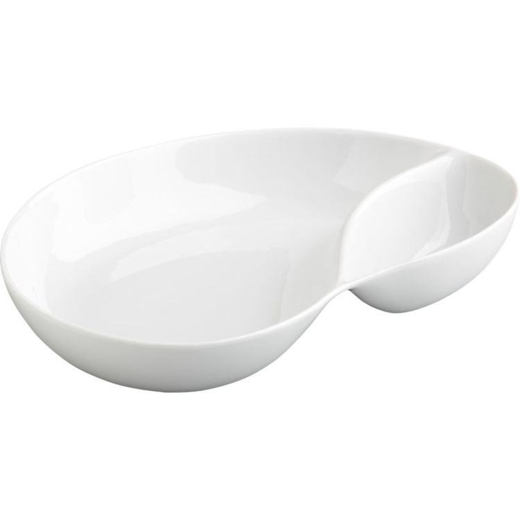 chip and dip bowl from Crate & Barrel
