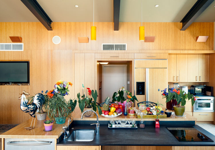 Highly accessible kitchen in Northern California