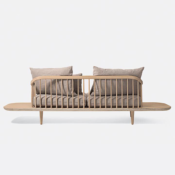 modern furniture design frame structure &Tradition Fly sofa