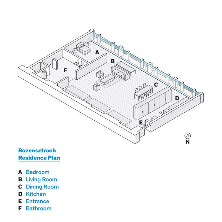 Rozensztroch Residence floor plan