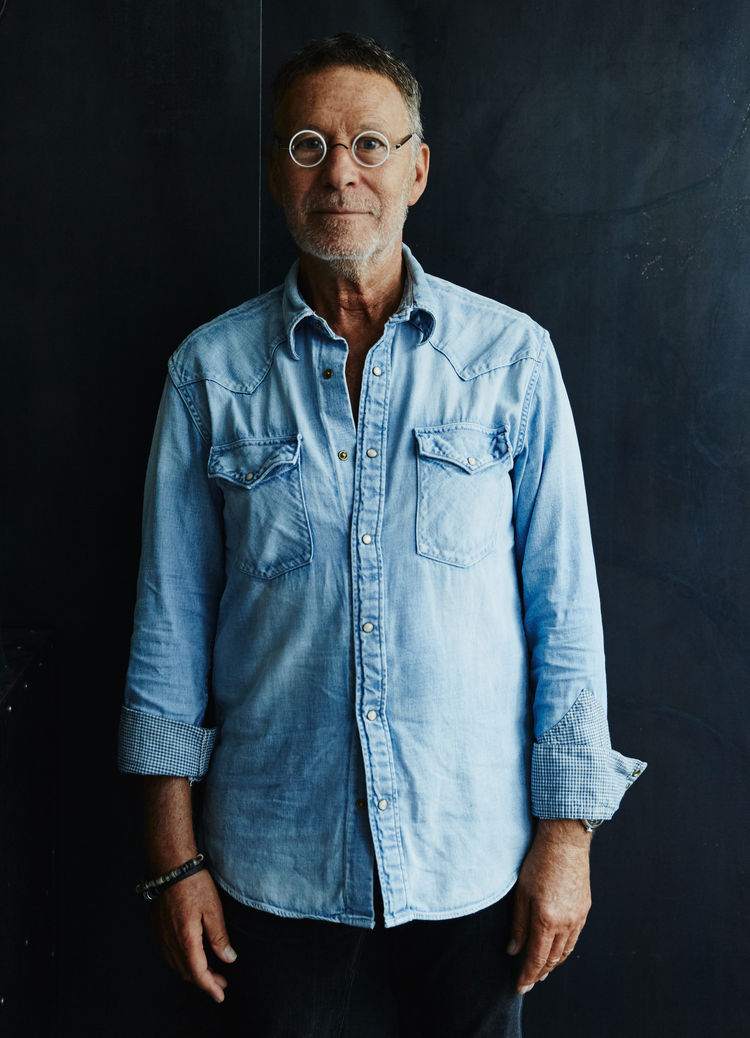 Portrait of designer Daniel Rozensztroch