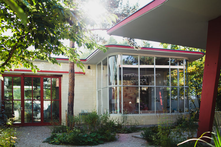 1950s gas station transformed into a home