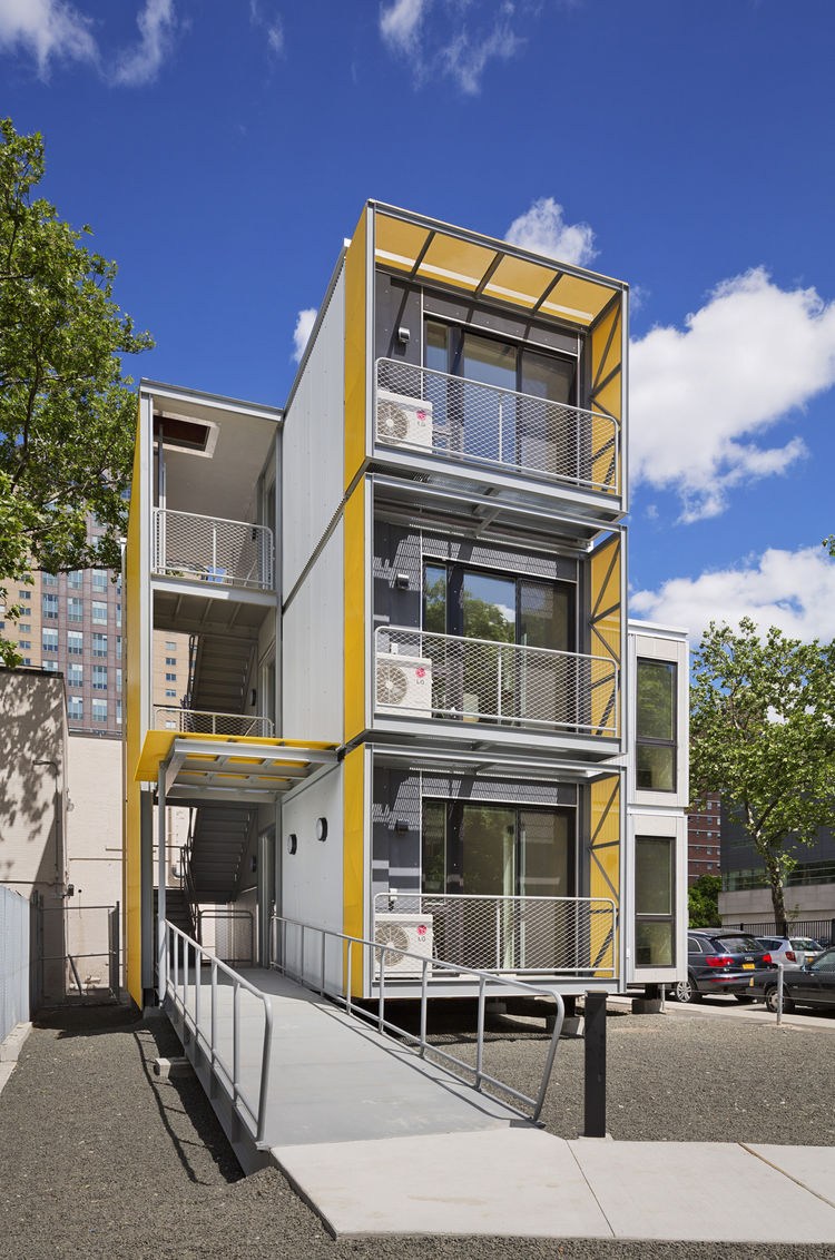 Housing prototype by Garrison Architects