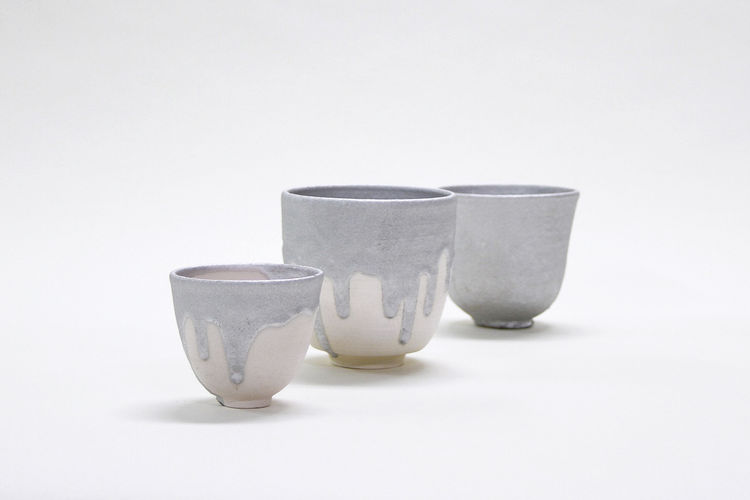 Gil Sunshine Karnak Glazed Cups from the exhibition NYCxSkymall