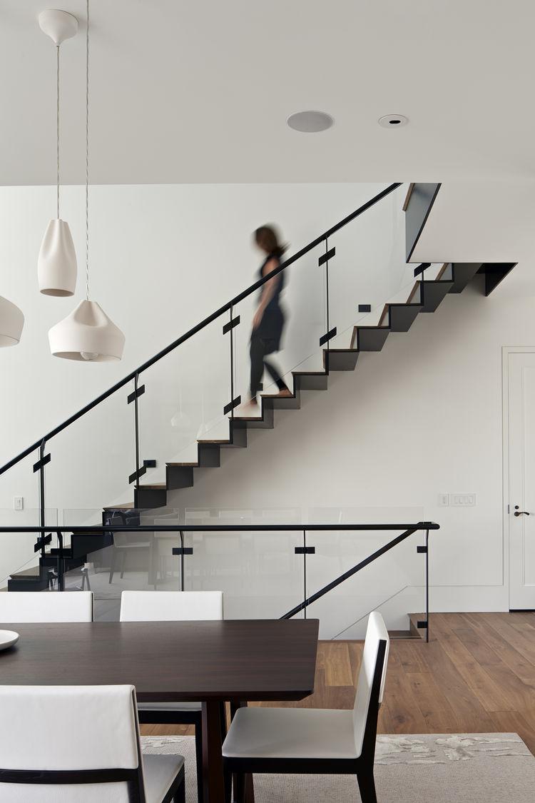 Custom stair of San Francisco remodel by Studio Vara.