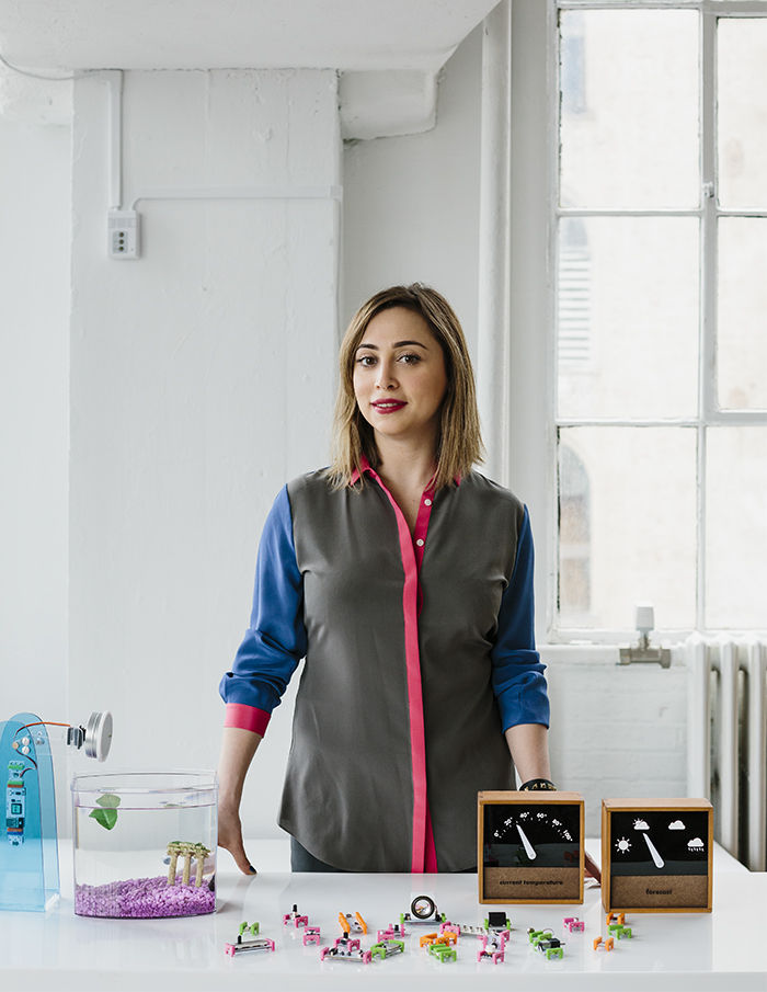 Ayah Bdeir, the founder of littleBits