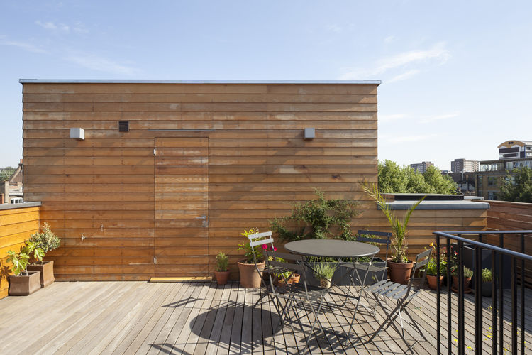 Gransden renovation deck