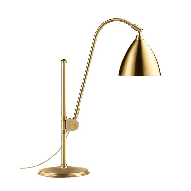 Classic table lamp in all-brass finish