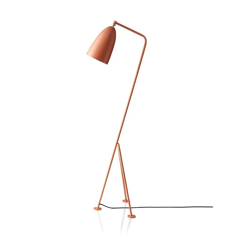 Iconic floor lamp inspired by grasshopper