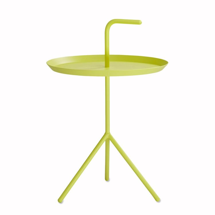 Bold multifunction side table with handle