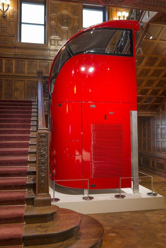 New London bus by Heatherwick Studio at Cooper Hewitt, Smithsonian Design Museum,