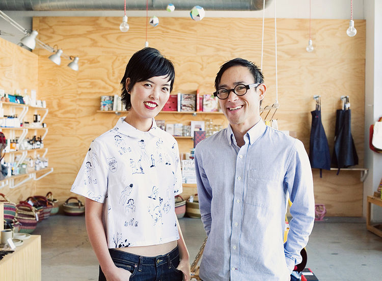 Q&A with Modern design leaders like Angie Myung of Poketo portrait