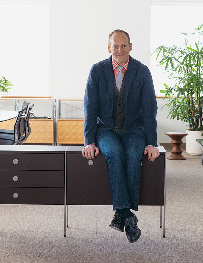 Q&A with Modern design leaders like Ben Watson of Herman Miller portrait