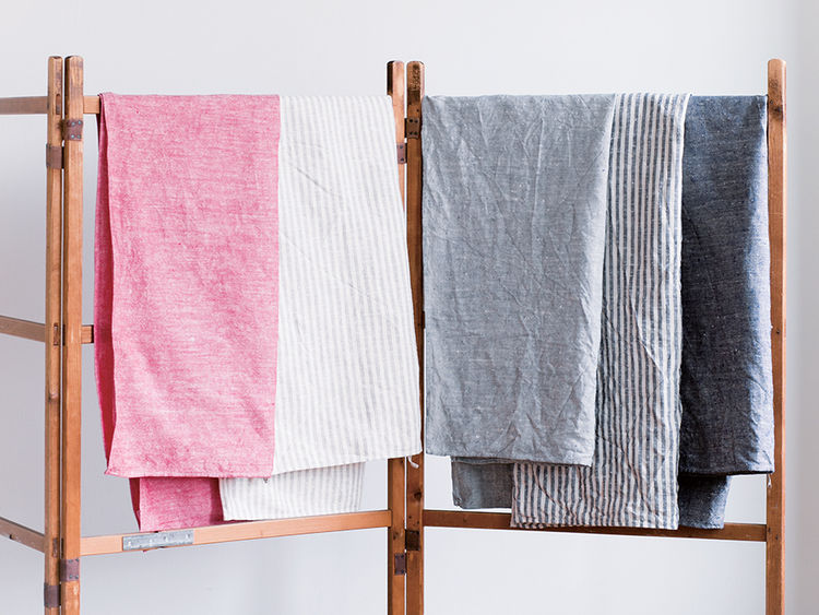 Q&A with Modern design leaders like Ben Watson of Herman Miller who recommends fog linen towels