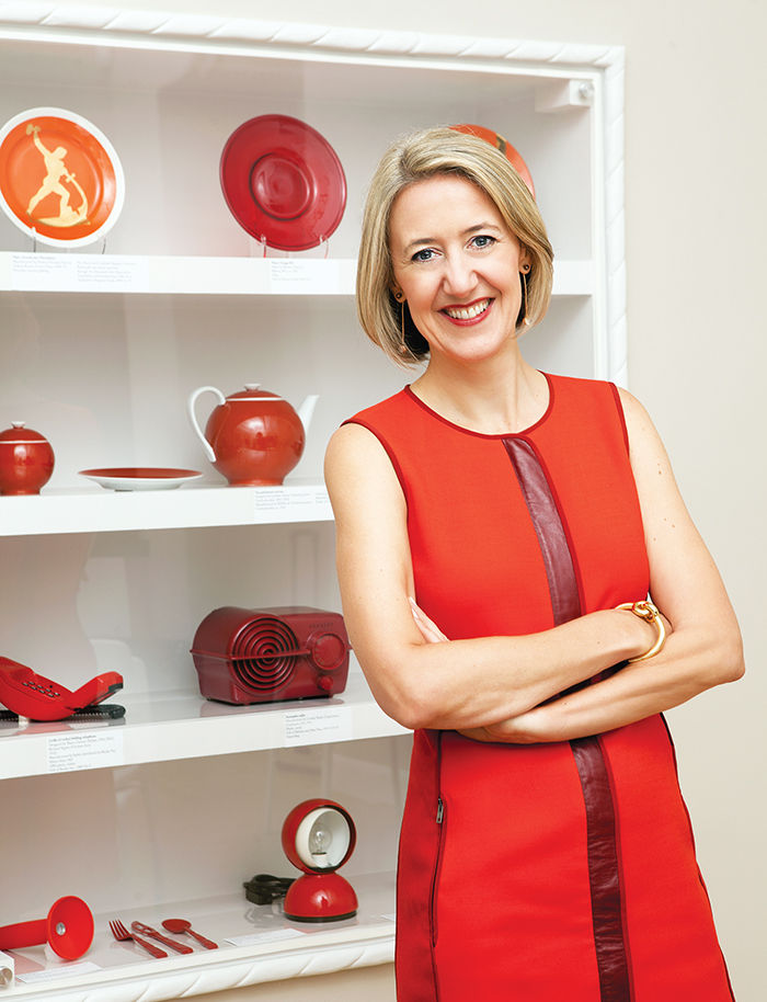 q&A with Modern design leaders like Caroline Baumann of Cooper Hewitt who recommends portrait