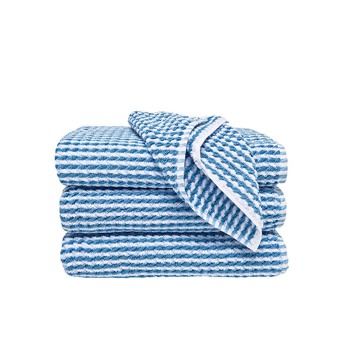 q&A with Modern design leaders like Caroline Baumann of Cooper Hewitt who recommends waterworks bath towels