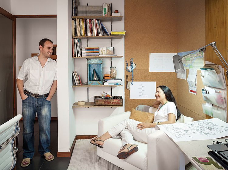 Q&A with Modern design leaders like Claudia and Harry Washington portrait