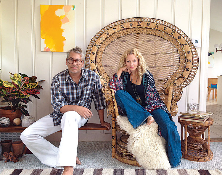 Q&A with Modern design leaders like John and Lina Meyers of Wary Meyers portrait
