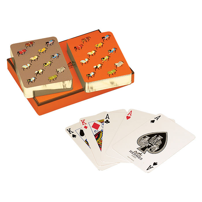 Q&A with Modern design leaders like Richard Wright, founder of Wright, who recommends hermés playing cards for host gift