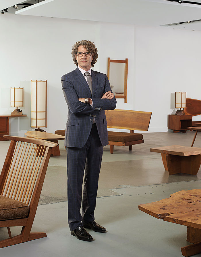 Q&A with Modern design leaders like Richard Wright, founder of Wright portrait