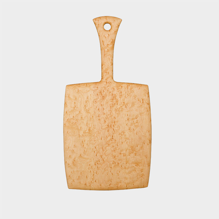 Q&A with Modern design leaders like Ronald T. Labaco of MAD who recommends birds eye maple cutting board by edward rohl as a host gift