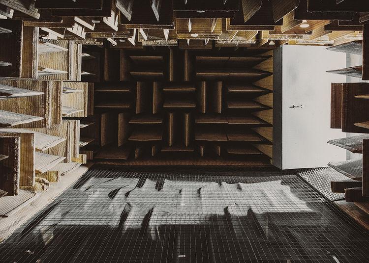 McIntosh Laboratory factory anechoic chamber
