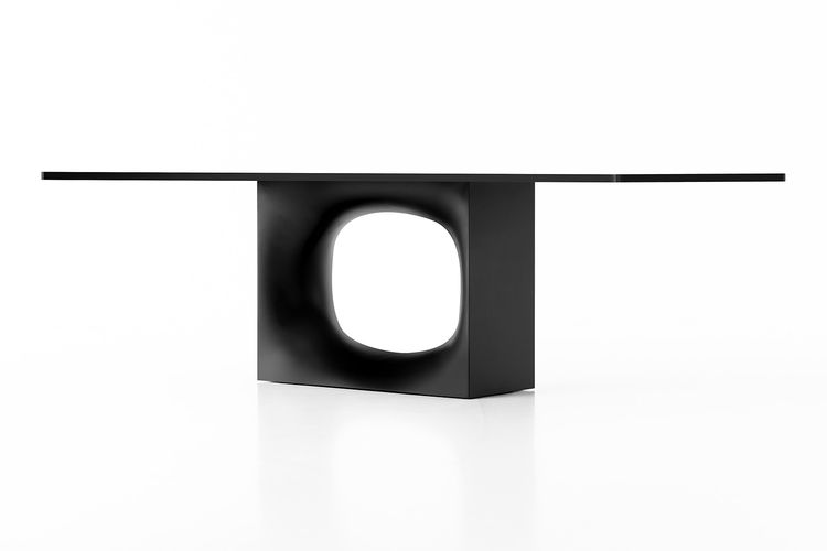 Hole table by Kensaku Oshiro for Kristalia