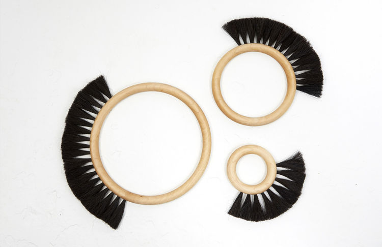 Fredericks and Mae Hoop Brushes