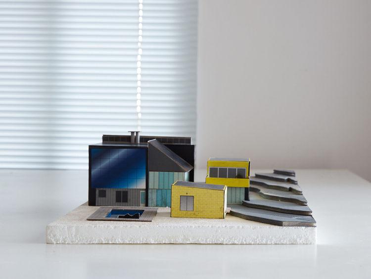 Ettore Sottsass home model