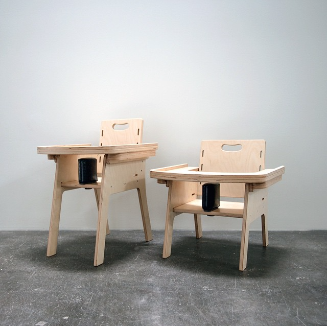 Modern assistive mobility school chairs for Children's Center for Visually Impaired, Hufft Projects