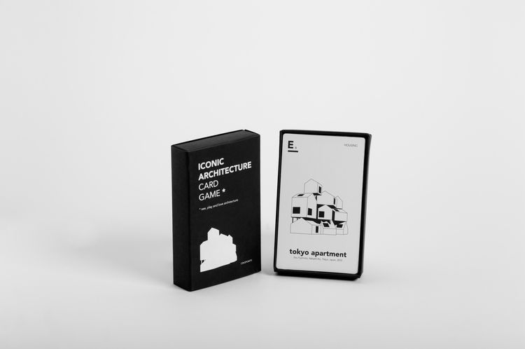 Architecture card game featuring iconic structures
