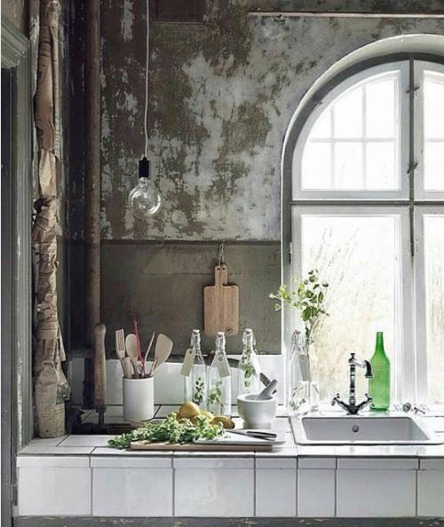 Industrial-chic kitchen