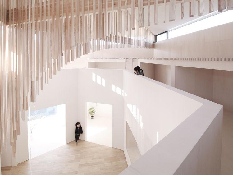 Koro House designed by Katsutoshi Sasaki in Toyota, Japan