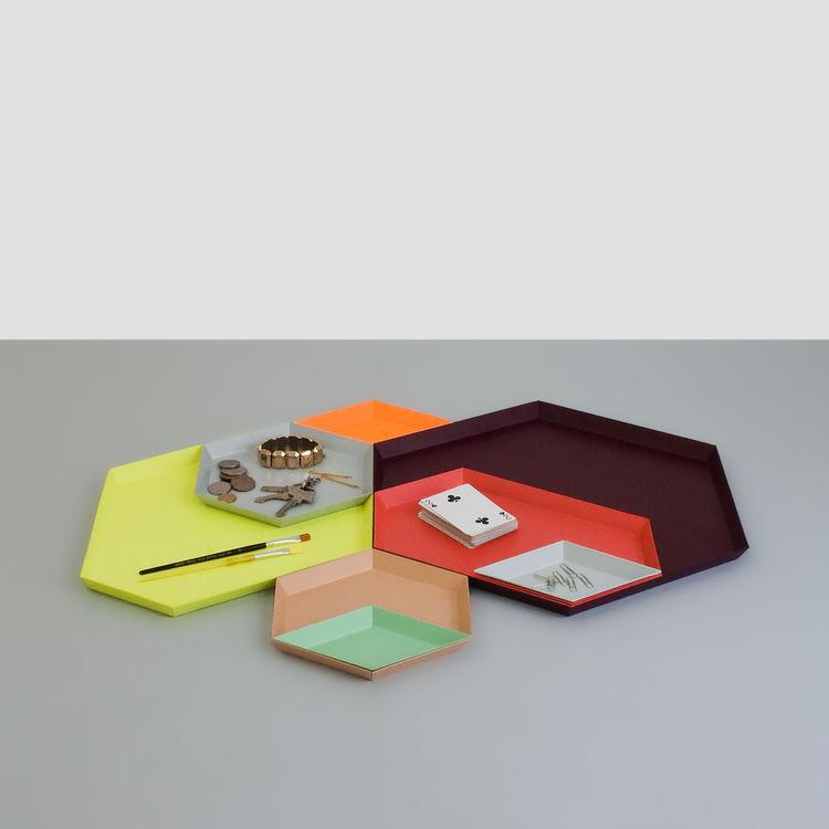 Kaleido Trays by Clara Von Zweigbergk for HAY at HAY Mini Market at MoMA Design Store.