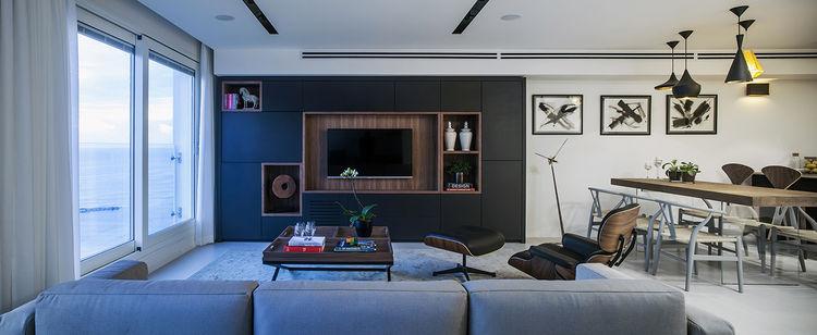 Living room in a Tel Aviv apartment