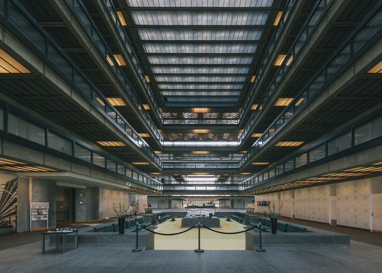 Bell Works in New Jersey designed by Eero Saarinen undergoing revamp with restored sunken lobby