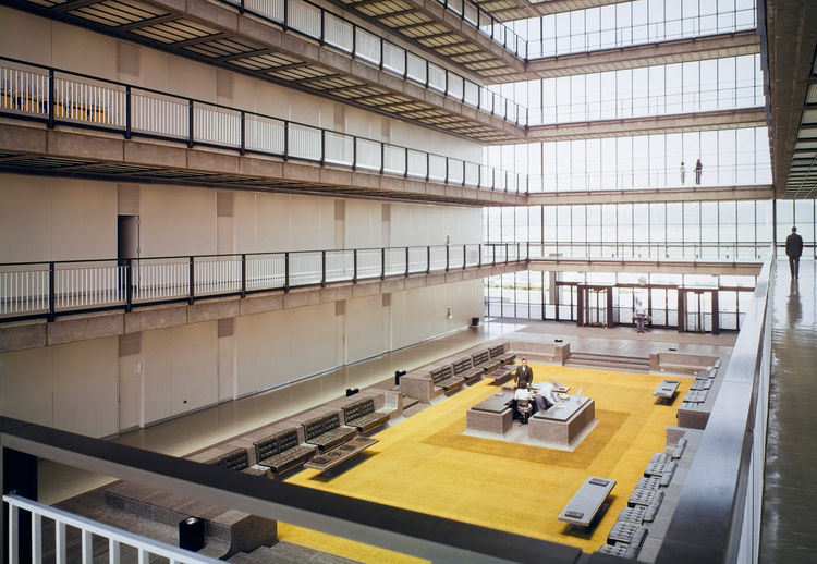Bell Works in New Jersey designed by Eero Saarinen undergoing revamp with sunken lobby