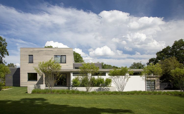 Modern, minimal home with durable materials in Lexington